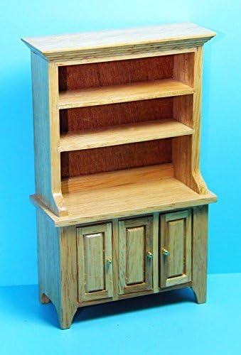 Mini Kitchen Shelf Dollhouse Kitchen Utensils Miniature Wooden Shelf Furniture