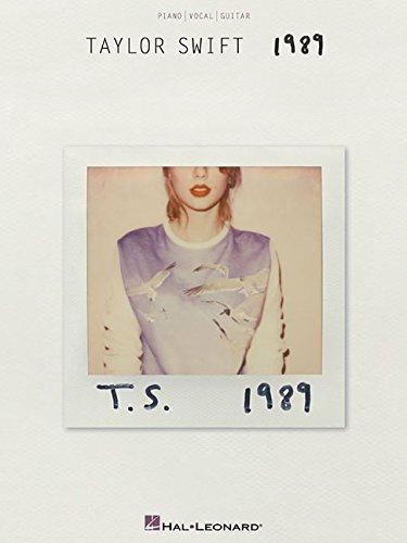 1989 Music Book - Taylor Swift - 1989
