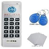 Handheld 125Khz-13.56MHZ RFID Copier Duplicator Cloner ID/IC card reader & writer + 10pcs 125KHZ +2pcs 13.56MHZ cards