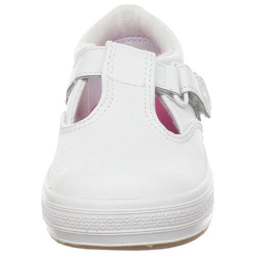 Keds Daphne T-Strap Sneaker (Toddler/Little Kid), White, 12 M US Little Kid by Keds (Image #4)