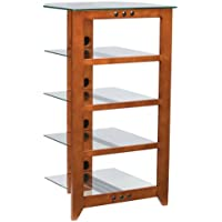 NFA245C1 - Sanus 1 xTop 26 22, 1 xCenter 19 18.49, 1 xBottom 19 18.49 - Hardwood, Glass Frame, Shelf