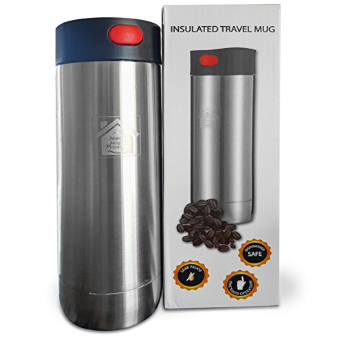 100% Leak Proof, Insulated Coffee Travel Mug. For WINTER ...