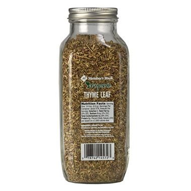 Member's Mark Organic Thyme Leaf 2.9 oz. (pack of 4) A1