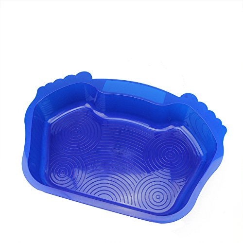 "Northlight 21.75"" Blue Anti-Skid Swimming Pool or Spa Textured Foot Bath"