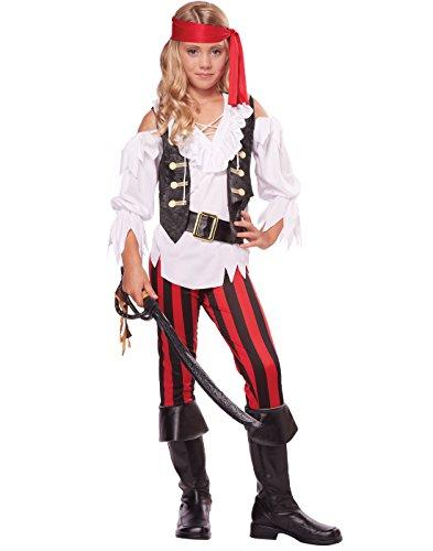 California Costumes Posh Pirate Costume, One Color, (Pirate Costume Girl)