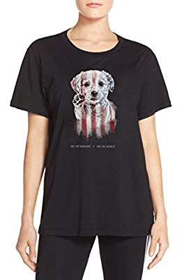 Arm The Animals Women's Hero Lab Oversized Boyfriend Shirt-$5 Donated To Veterans