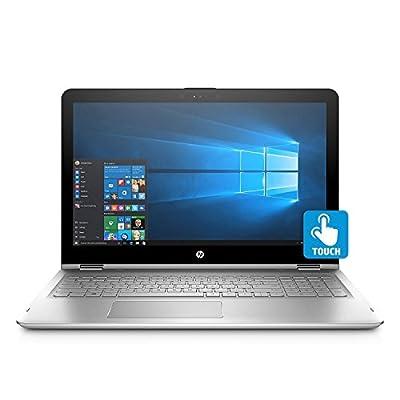 "2018 Newest HP ENVY x360 Convertible 2-in-1 Full HD IPS 15.6"" Touchscreen Notebook, Intel Quad Core i7-8550U Processor, 12GB Memory, 1TB Hard Drive, HD Webcam, Backlit Keyboard, Bang & Olufsen Audio"