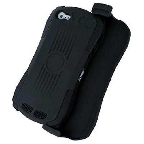 Empire Tough Tactile Grip Case Tasche Hülle for Apple iPhone 5 / 5S - Schwarz