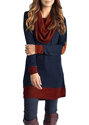 ZESICA Womens Vintage Draped Sleeve product image