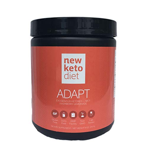 New Keto Diet Adapt- Achieve Ketosis Effortlessly, Sustainable Fat Loss, Increased Energy and Mental Clarity – Patented Exogenous Ketones Blend Review