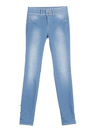 Del Para tamaño Skinny 10008979 Mujer one light Tiffosi Vaqueros Wash Azul Fabricante One Size pvRZwngx