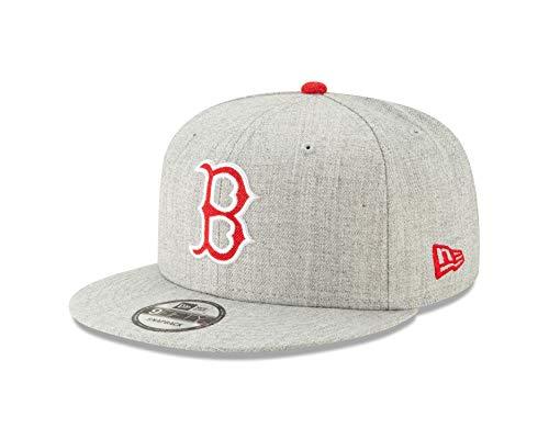 New Era Boston Red Sox Gray Heather Hype 9FIFTY Adjustable Snapback -