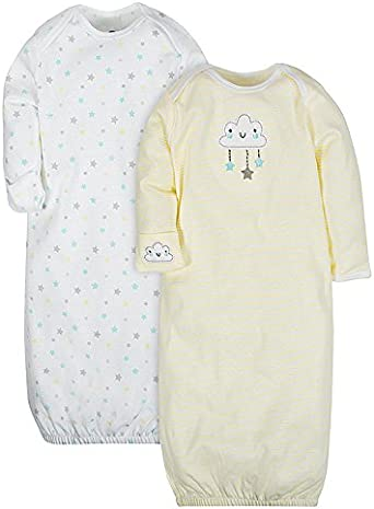 Gerber Baby Girls Infant-and-Toddler-Nightgowns