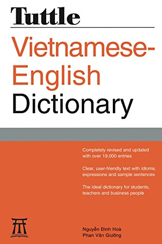 Tuttle Vietnamese-English Dictionary: Completely Revised and Updated Second Edition (Tuttle Reference Dictionaries)