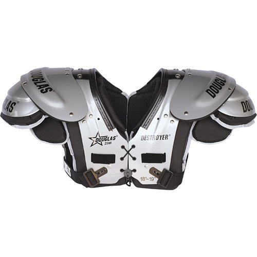 Douglas DP 25 Series RB-DB-QB Football Shoulder Pads - One Color Extra (Db Football Shoulder Pads)