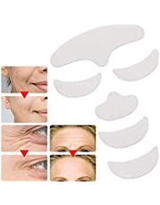 Anti Wrinkle Silicone Strips, Reusable Forehead Wrinkle Patches, Facial Eye Wrinkle Patches, Chest Wrinkle Treatment Smoothing Pad for Men and Women (6Pcs)