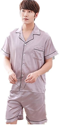 Pijama Para Hombre Diru Claro Morado XUqdw0