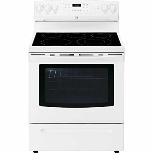 Kenmore 2294192 2294192 02294192 Self Clean Electric Range, White, 5.4 cu ft by Kenmore