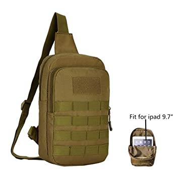 Amazon.com : Fitmall Tactical Tablet Bags Large Military Molle ...