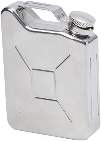 Amazing New Style 6oz Jerry Can Hip Flask Stainless Steel Hip Flask with funnel