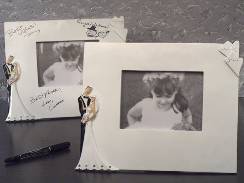 Best Wedding Wishes Photo - Best wishes Signature Wedding photo frame - 1 by Cassiani