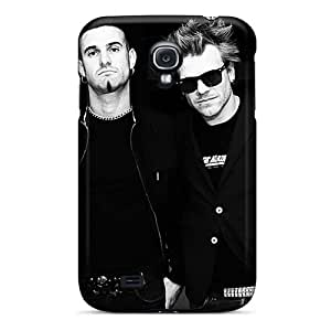 High Quality Mobile Case For Samsung Galaxy S4 With Support Your Personal Customized Vivid Avenged Sevenfold Pattern AlissaDubois