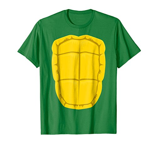 Mens Funny Turtle Shell Halloween Costume Shirt Gift Clever DIY XL Kelly Green -