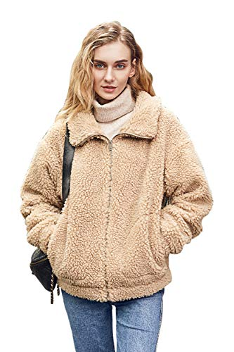 Relish Noless Fashion Women Faux Fur Coat