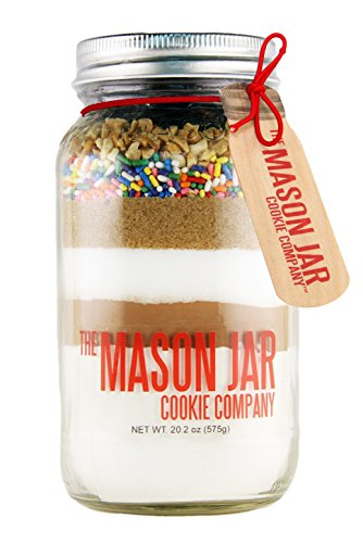 - The Mason Jar Cookie Company Cookie Mix, Chocolate Cherry Sundae, 1.3 Pound