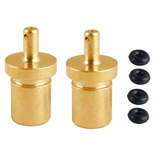 Wadoy Butane Adapter Camping Gas Refill Propane Adapter Filling Butane Canister (2 pack)