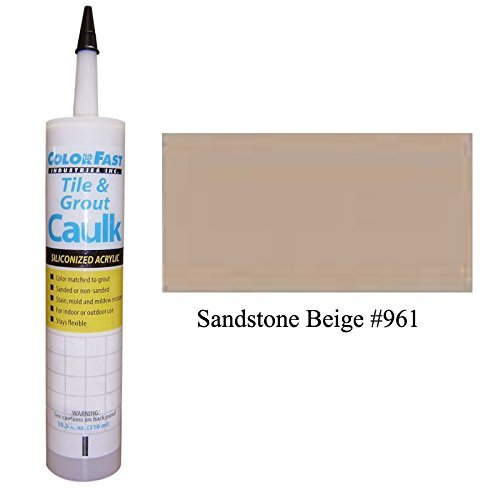 TEC Color Matched Caulk by Colorfast (Unsanded) (961 Sandstone Beige)