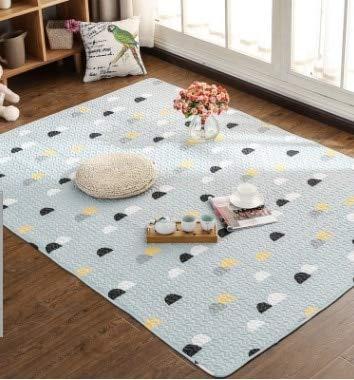 No11 YOOMAT 100% Cotton Cartoon Carpet Kids Room Rug Yoga Mat Muti Taille 12 Styles Rug for Living Room Window 200 x 210 cm