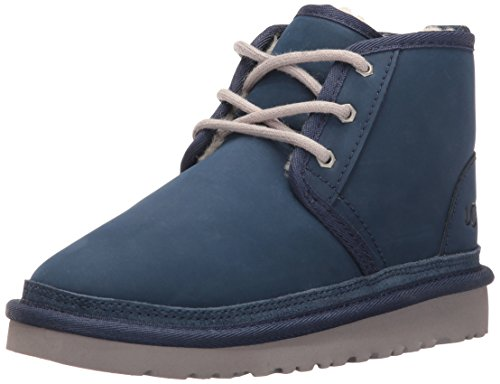 UGG Boys K Neumel Pull-on Boot, New Navy, 3 M US Little