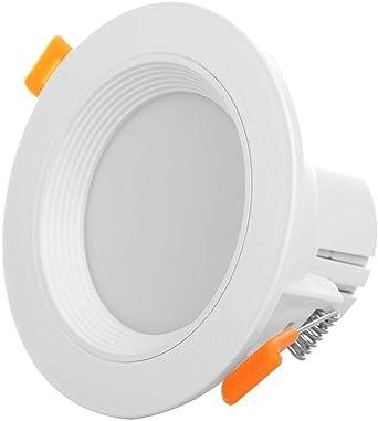 Starnearby Lámpara LED de techo con sensor de movimiento, panel ...