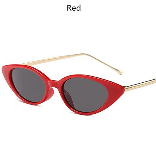 De Mujer Femeninos Marca Clásicas Gafas C6 KLXEB De Tonos Metal Oval C7 Sol Bastidor Gafas vq17wf