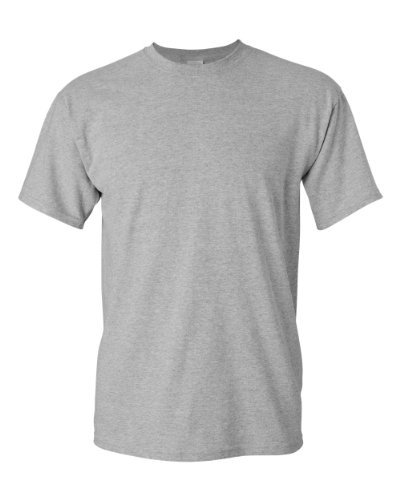 Gildan mens Heavy Cotton 5.3 oz. T-Shirt(G500)-SPORT GREY-XL ()