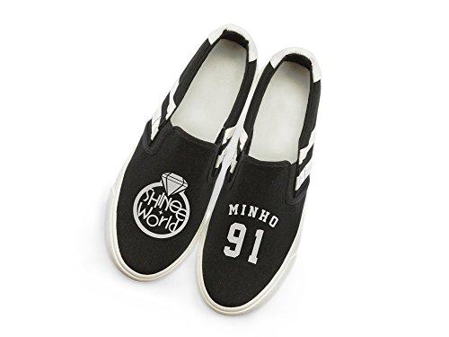 Fanstown Shinee Kpop Sneakers Shoes Fanshion Memeber Hiphop Style Fan Support Con Lho Card Minho