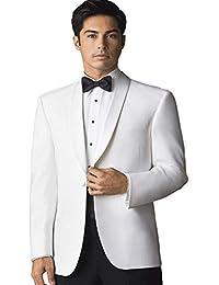 Men's Elegant White Dinner Jacket
