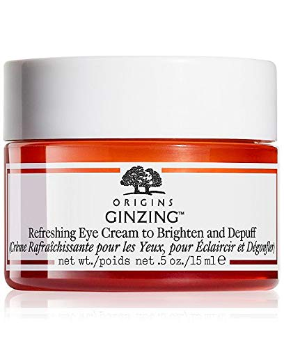 Origins Ginzing Refreshing Eye Cream to Brighten and Depuff 15ml( Brand New in Box) (Best Eye Cream To Brighten Dark Circles)
