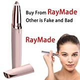 Eyebrow Epilator Hair Removal - As Seen Brows Hair Remover Shaver for Women Removal Epilator Electric Facial Eyebrow Remover Painless Women's Brow Trimmer Razor Legs On TV (Not Include Battery)