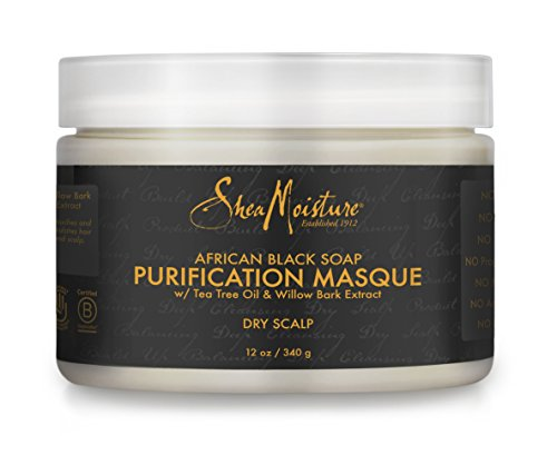 SheaMoisture African Black Soap Purification Masque | 12 (Scalp Mask)