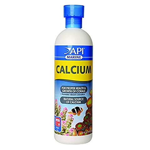 API MARINE CALCIUM Reef Aquarium Calcium Solution - Marine Reef Tank