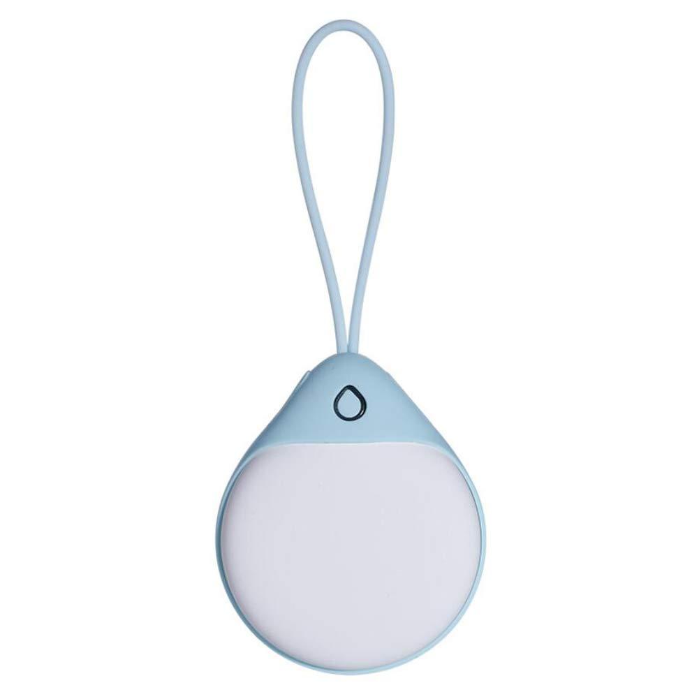 HUANGLP Wassertröpfchen Handwärmer USB Portable Tragbare Große Kapazität Aufladen Niedlichen Elektrischen Kuchen Einfach Warmes Winter Geschenk Weihnachts Geburtstag Geschenk,Blau