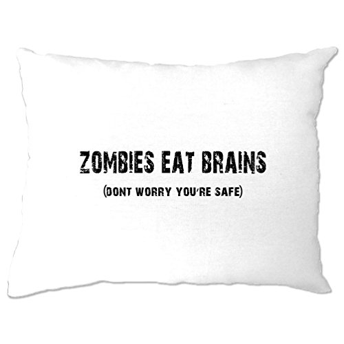 Tim And Ted Halloween Pillow Case Zombies Eat
