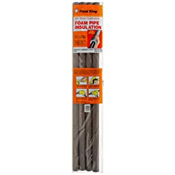 Thermwell Products P10X Foam Insulation, 3-Feet