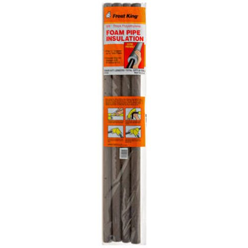 Thermwell Products P10X Foam Insulation, 3-Feet (Copper Pipe Insulation)