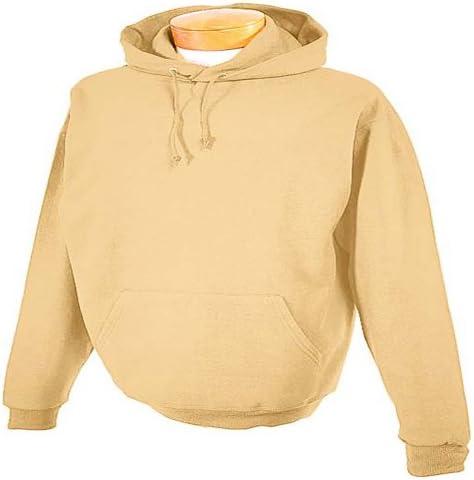 Jerzees 8 oz NuBlend 50//50 Pullover Hood Khaki Large