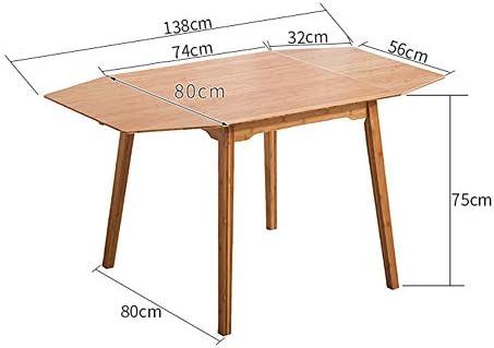 FEI - Lapdesks Mesa de Comedor Plegable de bambú Tabla de Cena ...