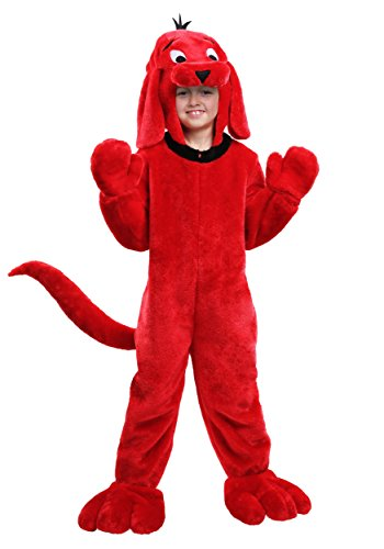Clifford the Big Red Dog Kids Costume Medium