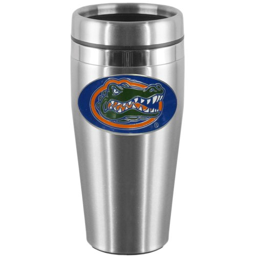 NCAA Florida Gators Steel Travel Mug
